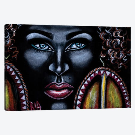 Like The Twists Of My Loose Bantu Knots Dont Get It Twisted I Call All The Shots Canvas Print #RIA38} by Artist Ria Canvas Print