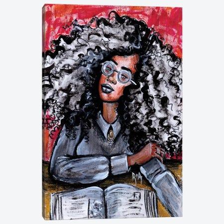 Love My Beautiful Mind Canvas Print #RIA43} by Artist Ria Canvas Art