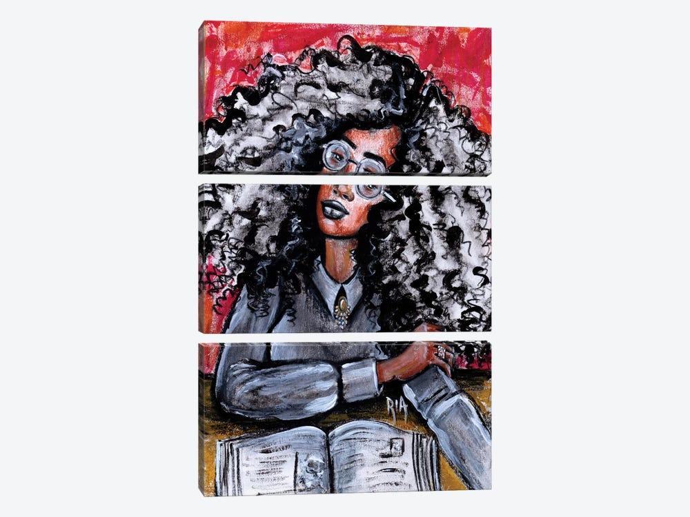 Love My Beautiful Mind by Artist Ria 3-piece Canvas Art