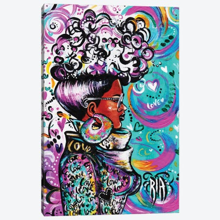 Lovely Canvas Print #RIA45} by Artist Ria Canvas Print