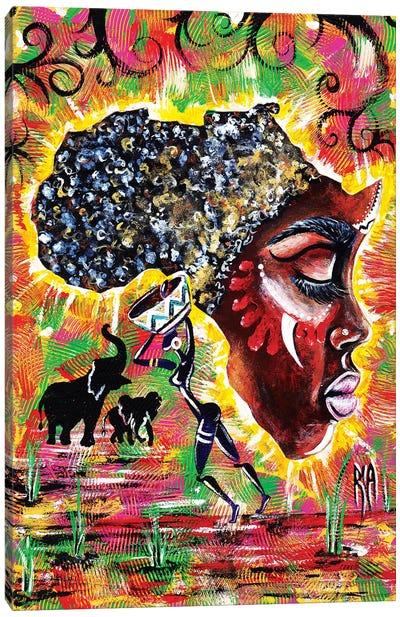 Mama Afrika Canvas Art Print