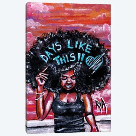 Mama Said... Canvas Print #RIA47} by Artist Ria Canvas Art Print