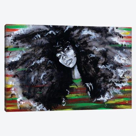 Ms Erykah Badu To You Fool Canvas Print #RIA49} by Artist Ria Canvas Artwork