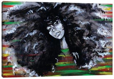 Ms Erykah Badu To You Fool Canvas Art Print