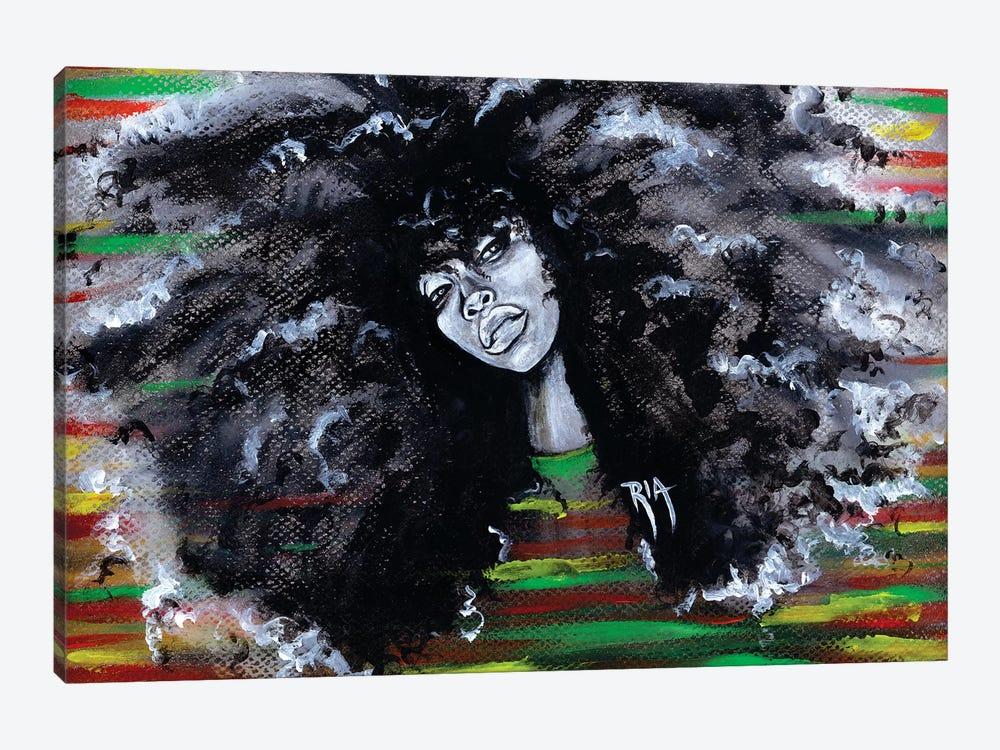 Ms Erykah Badu To You Fool by Artist Ria 1-piece Canvas Wall Art