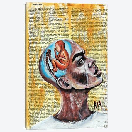 Odds Against Me Canvas Print #RIA55} by Artist Ria Canvas Art