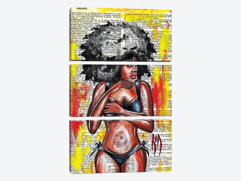 Originality by Artist Ria 3-piece Canvas Art