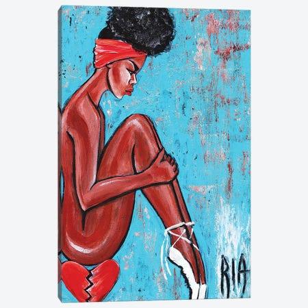 Our Choreographed Love- A Sad Ballet Canvas Print #RIA57} by Artist Ria Canvas Artwork