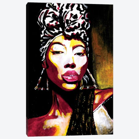 Queen Of Kings Canvas Print #RIA59} by Artist Ria Canvas Print