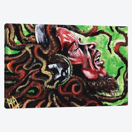 Robert Nesta Marley Canvas Print #RIA61} by Artist Ria Canvas Artwork