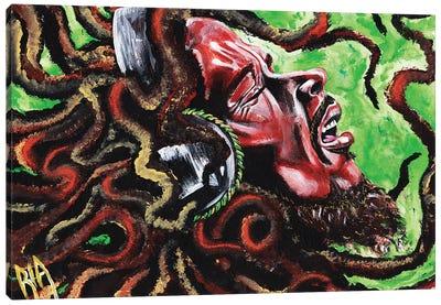 Robert Nesta Marley Canvas Art Print