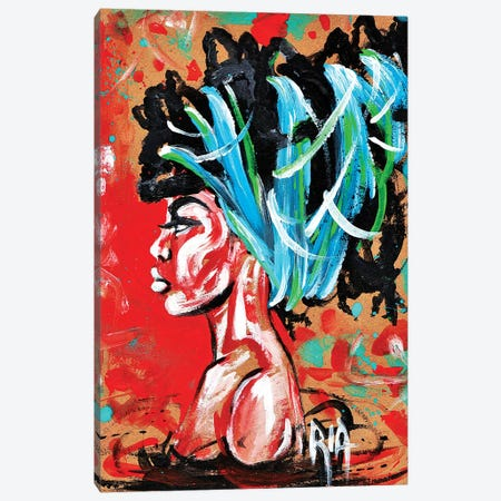 Sinkin Canvas Print #RIA66} by Artist Ria Art Print