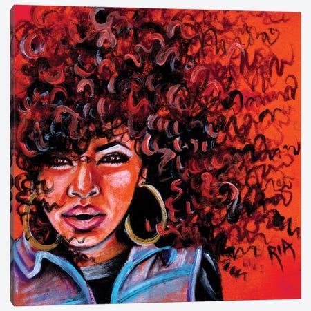Autumns Free Fall Canvas Print #RIA6} by Artist Ria Canvas Artwork