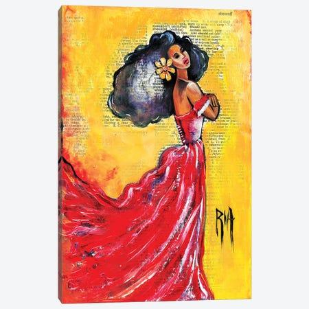 Sweet Summer Canvas Print #RIA70} by Artist Ria Canvas Print