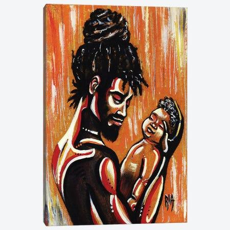 The Apple Of His Eye Canvas Print #RIA71} by Artist Ria Art Print