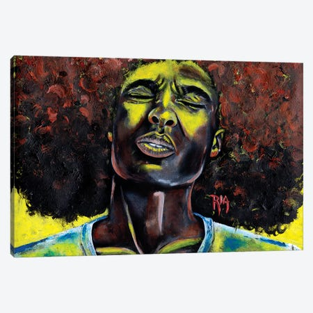 The Sun Dont Shine Forever Canvas Print #RIA72} by Artist Ria Canvas Print