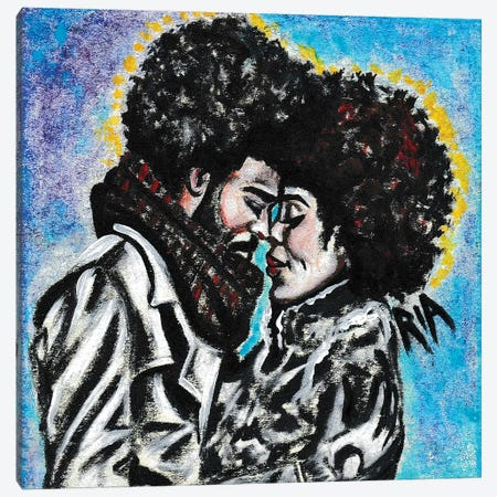 Trulove Canvas Print #RIA73} by Artist Ria Art Print