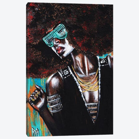 Unbreakable Canvas Print #RIA74} by Artist Ria Canvas Art