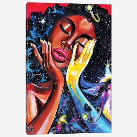 Unlocked U Never See All (Universal) Canvas Print #RIA75} by Artist Ria Canvas Artwork