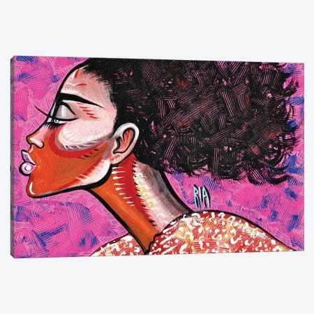 Unpredictable Canvas Print #RIA76} by Artist Ria Canvas Artwork