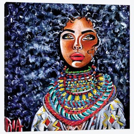 Untamed Beauty Canvas Print #RIA78} by Artist Ria Canvas Print