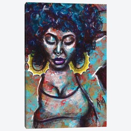 Warm Vibes Canvas Print #RIA79} by Artist Ria Art Print