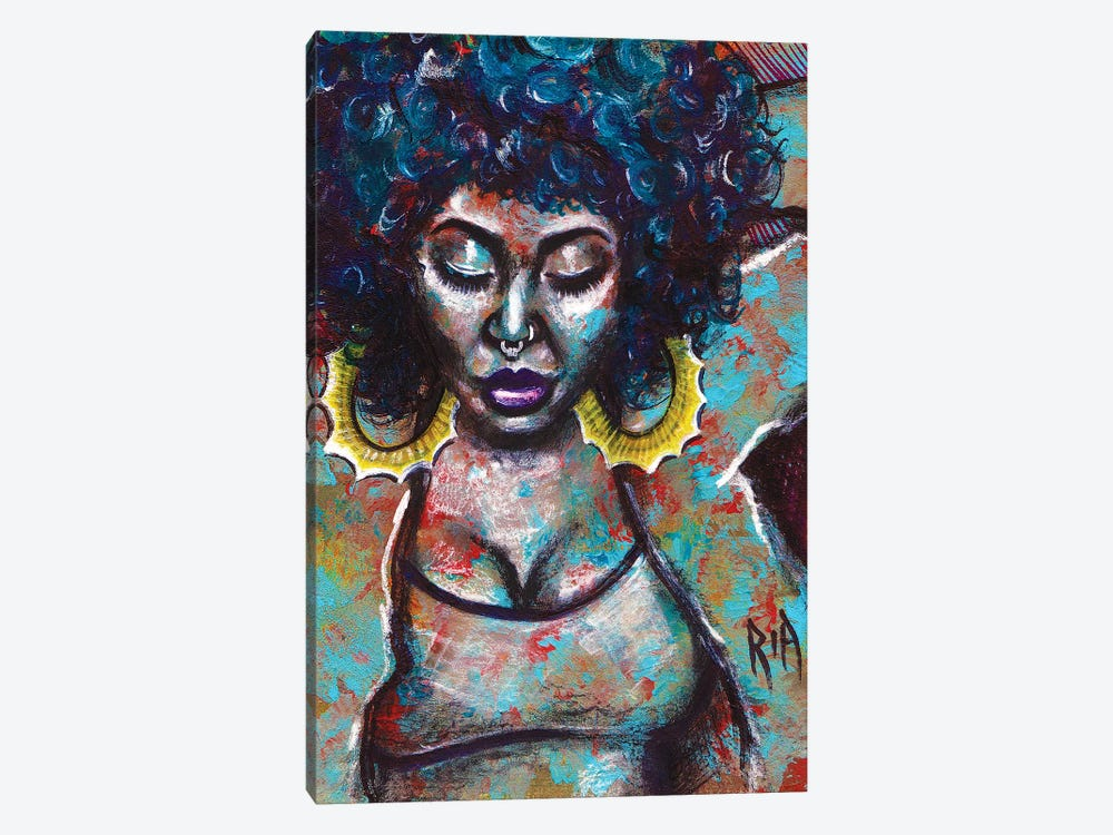 Warm Vibes by Artist Ria 1-piece Canvas Art Print