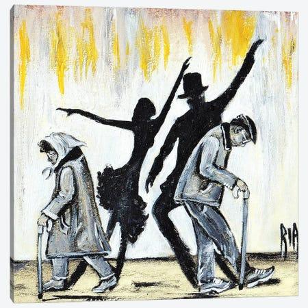 We Will Dance Again.... Canvas Print #RIA81} by Artist Ria Canvas Wall Art