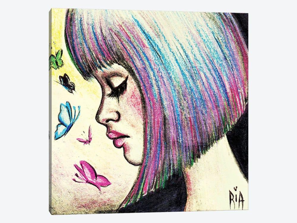 Wish I Felt Those Butterflies Instead Of Your Lies by Artist Ria 1-piece Art Print