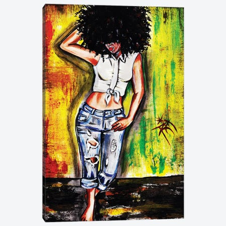 Ya Feel Me Canvas Print #RIA87} by Artist Ria Canvas Print