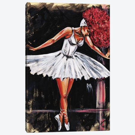 Bonjour Belle Danseuse Canvas Print #RIA8} by Artist Ria Art Print