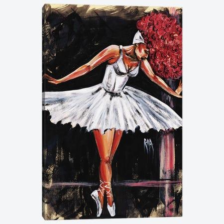 Bonjour Belle Danseuse Canvas Print #RIA8} by Artist Ria Art Print