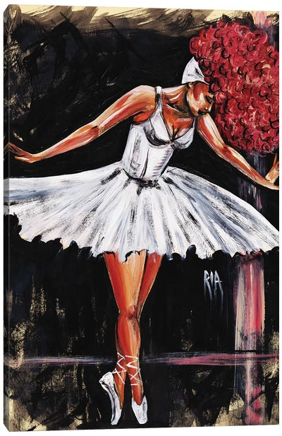 Bonjour Belle Danseuse Canvas Art Print