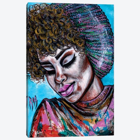 You're Huetiful Canvas Print #RIA90} by Artist Ria Art Print