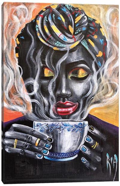 Fresh Brewed Canvas Art Print