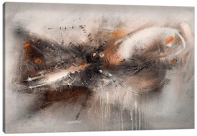 Nurral (fluid)  Canvas Art Print