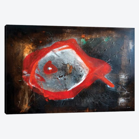 Will Be Fish Canvas Print #RIB22} by Adriano Ribeiro Art Print