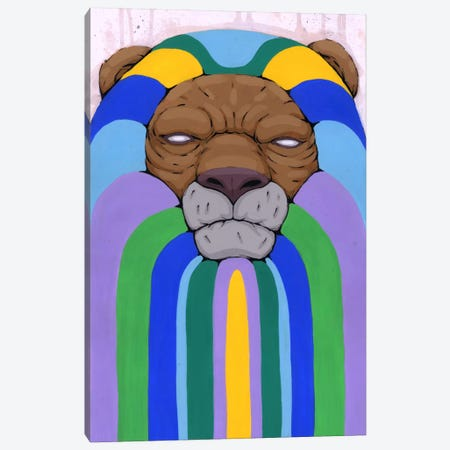 Head of the Pride Canvas Print #RIC12} by Ric Stultz Art Print
