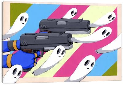 Making New Ghosts Canvas Art Print