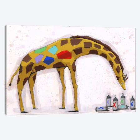Picking New Colors Canvas Print #RIC22} by Ric Stultz Canvas Artwork