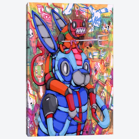 Always on My Back Canvas Print #RIC37} by Ric Stultz Canvas Wall Art