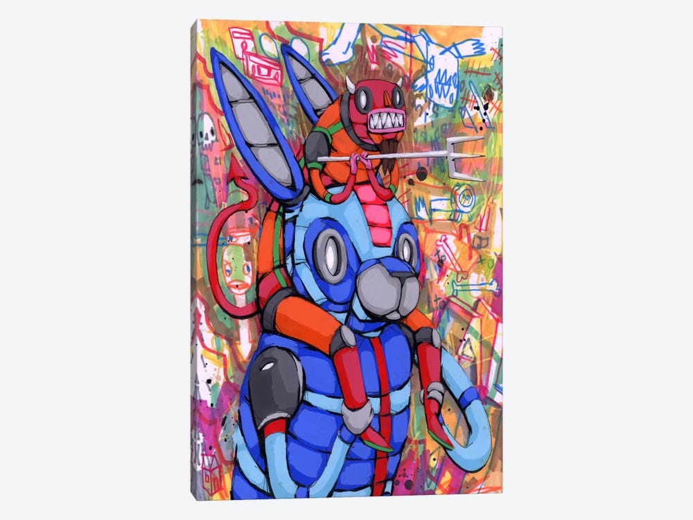 Always on My Back by Ric Stultz 1-piece Canvas Artwork