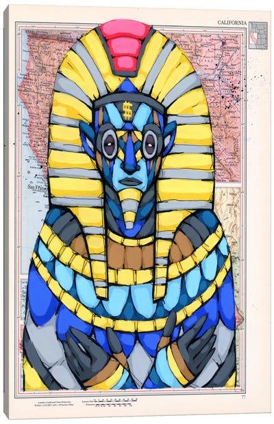 American Pharaoh Canvas Art Print