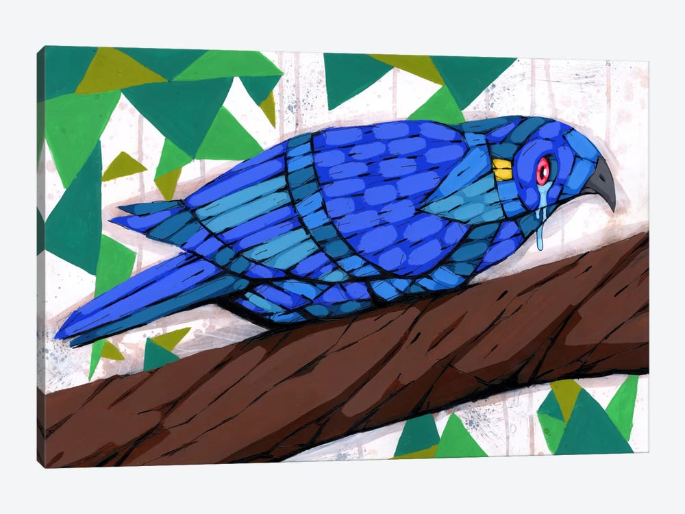 Bluest Bird by Ric Stultz 1-piece Canvas Art Print