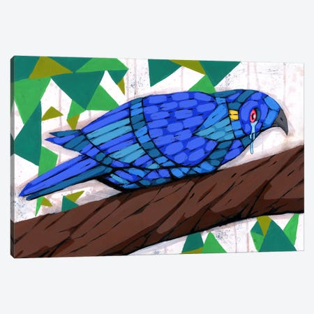 Bluest Bird Canvas Print #RIC41} by Ric Stultz Canvas Wall Art