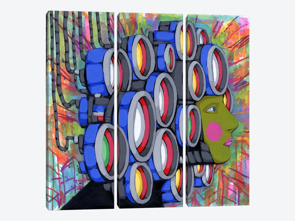 Center of Attention 2 by Ric Stultz 3-piece Canvas Wall Art