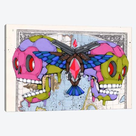 Death Grips Canvas Print #RIC45} by Ric Stultz Canvas Art Print