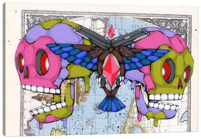 Death Grips Canvas Art Print