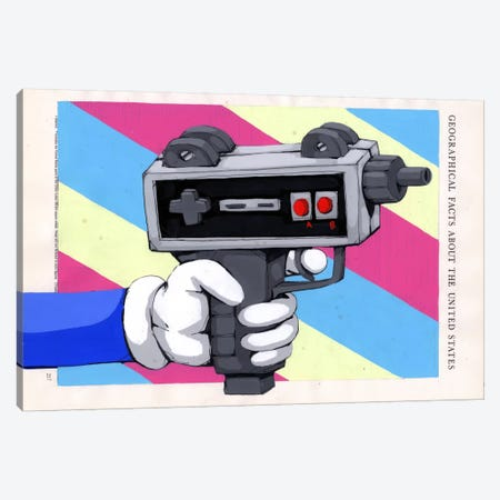 Done Playing Games Canvas Print #RIC46} by Ric Stultz Canvas Art Print