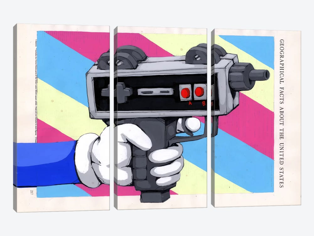 Done Playing Games by Ric Stultz 3-piece Canvas Artwork